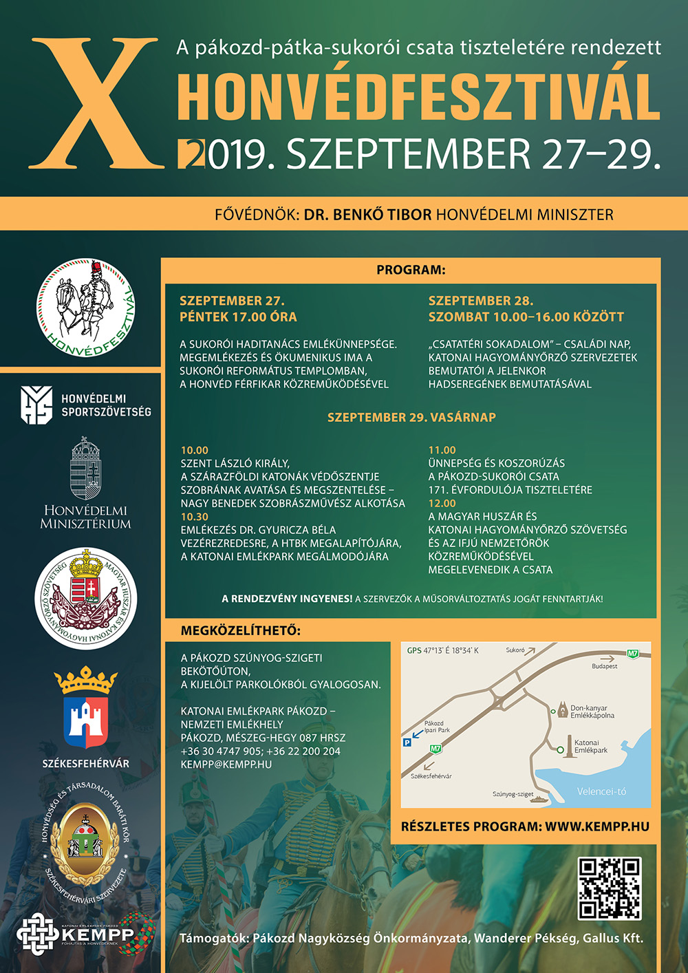 Honvédfesztivál 2019 programok